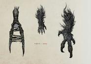 Beast Claw concept Art