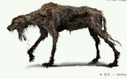 Rabid dog concept