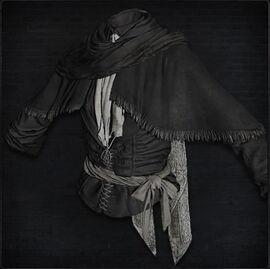 Black Church Garb (female)