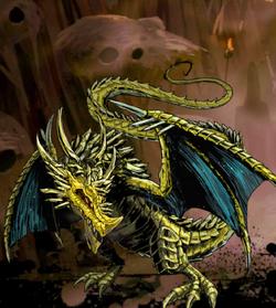 Xeran, Gilt Dragon Image