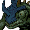 Lizardman Swordsman Face