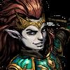 Attis, The Fiery Blade Face