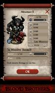 Minotaur II Base Stats