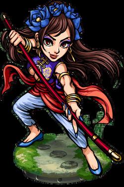 Diaochan, Staffmaster II Figure