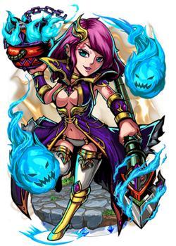 Vesta, Flame Witch II Figure