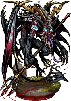 Fiendish Bat Demon II Figure