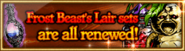 Shop Frost Beast's Lair sets Banner
