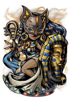 Bastet, the Cat's Eye Figure