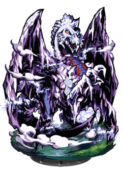 Icebound Dragon Figure
