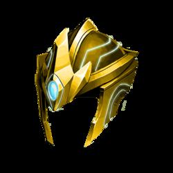 Gold Casque