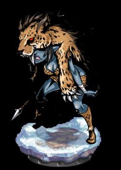 Elven Poacher + Figure