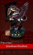 Lizardman Fleetfoot (evolution reveal)