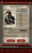 Gorilla Angler II + (full stats)