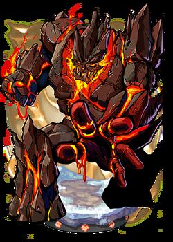 Lava Golem Figure