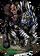 Hamad, Zebra Rider Figure