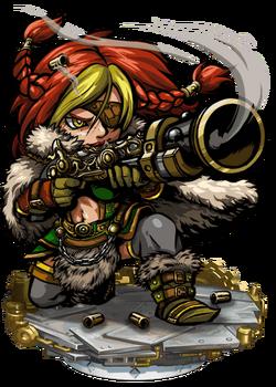 Agatha Rumbleshot Figure