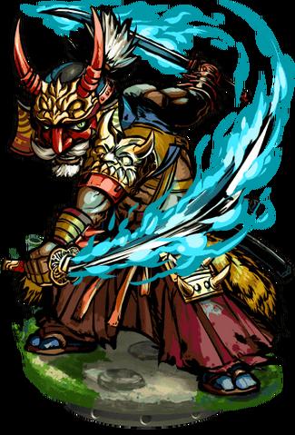File:Chikaemon, Master Samurai II Figure.png