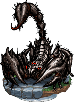 Giant Scorpion + Figure