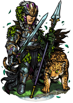 Kalevan, the Forest Green Figure