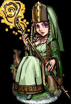 Aleine the Revelator Figure