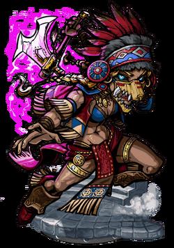 Haokah, Thunder Shaman II Figure