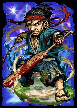Musashi, the Twinblade Figure