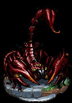 Giant Scorpion II + Figure