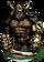 Gorilla Gladiator Figure