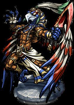 Montu, the Weapon Master Figure