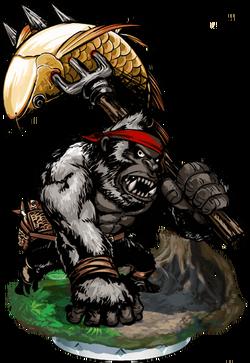 Gorilla Angler II + Figure