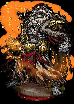 Midas, the Wailing King Figure