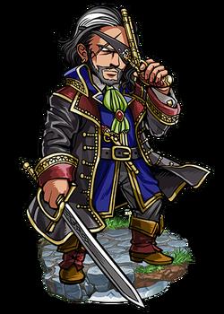 Hawke, Fleet Admiral Figure