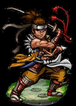 Kuki, Pirate Samurai II Figure