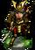 Naginata Samurai II Figure