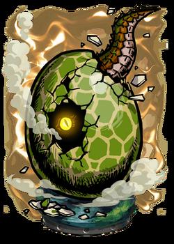 Green Egg Figure