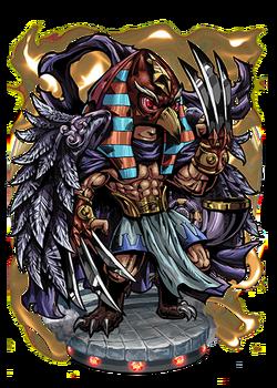 Horus, the Falcon God Figure