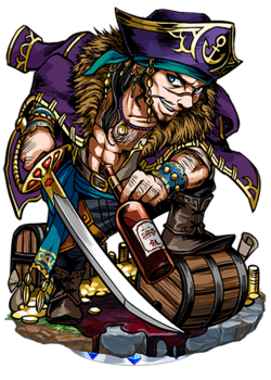 Captain Kidd II Figure