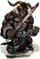 Fomor the Savage II Figure