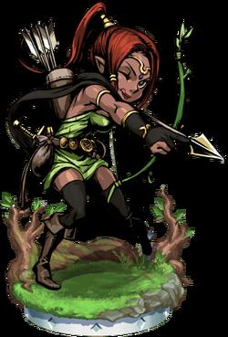 Elven Archer II + Figure