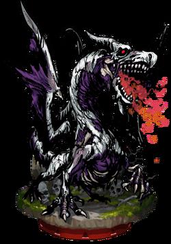 Zombie Dragon II Figure