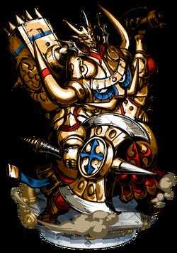 Andvari, the Brass Knight II Figure