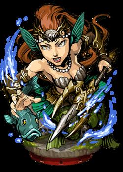 Vepar, the Roiling Sea Figure