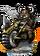Dwarven Hog Rider + Figure