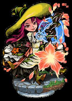 Phlox, Firebloom Witch Figure