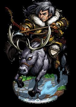 Negafok, Reindeer Rider Figure