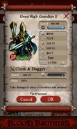 Elven High Guardian II (Good max stats)