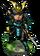 Naginata Samurai + Figure