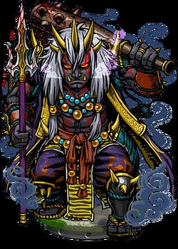 Onra, Ogre Lord II Figure