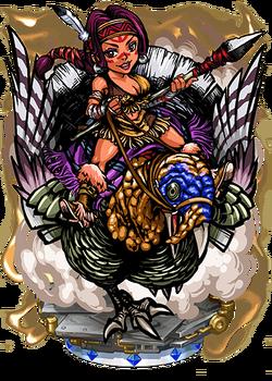 Benjamina, Turkey Rider II Figure