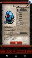 Blue Egg after stats change